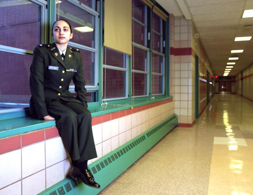 Reportage JROTC New York / Spring 2002
