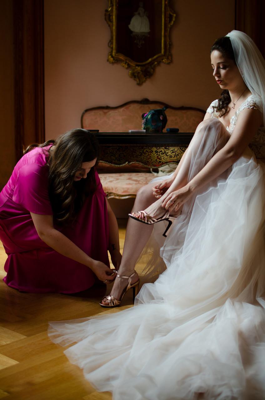 Getting Ready; Wedding